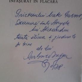 Gabriel Iuga - Infasurat in flacara (cu autograf)