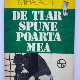 George Mihalache - De ce ti-ar spune poarta mea