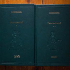 Giovanni Boccaccio - Decameronul (2 vol., editie hardcover)