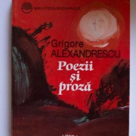 Grigore Alexandrescu - Poezii si proza