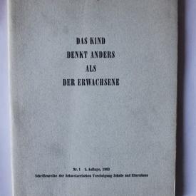 Hans Zulliger - Das kind denkt anders als der erwachsene
