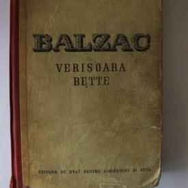 Honore de Balzac - Verisoara Bette (editie hardcover)