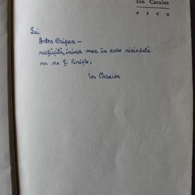 Ion Caraion - Eseu (cu autograf)