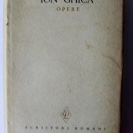 Ion Ghica - Opere I. Scrisori catre V. Alecsandri (editie hardcover)