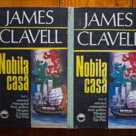 James Clavell - Nobila casa (2 vol., editie hardcover)