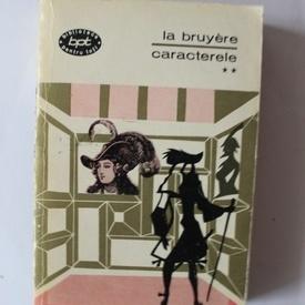Jean de la Bruyere - Caracterele (vol. II)