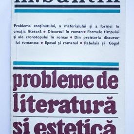 M. Bahtin - Probleme de literatura si estetica