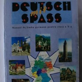 Marianne Koch, Gheorghe Nicolaescu - Deutsch mit spass (manual de limba germana pentru clasa a X-a)