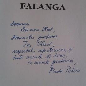 Marta Petreu - Falanga (cu autograf)