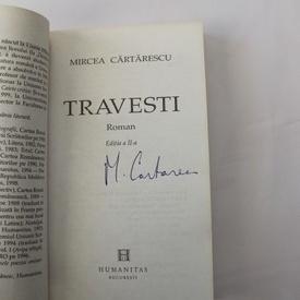 Mircea Cartarescu - Travesti (cu autograf)