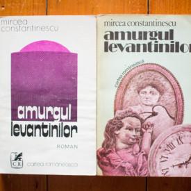 Mircea Constantinescu - Amurgul levantinilor I-II (2 vol., editie completa)