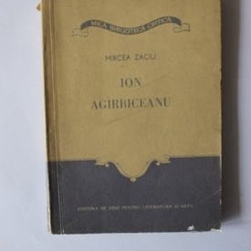 Mircea Zaciu - Ion Agarbiceanu