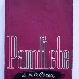 N. D. Cocea - Pamflete
