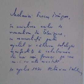 Octavian Paler - Umbra cuvintelor (volum de debut, cu autograf)