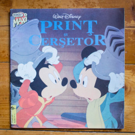 Print si Cersetor (carte Walt Disney)