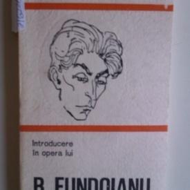 Mircea Martin - Introducere in opera lui B. Fundoianu