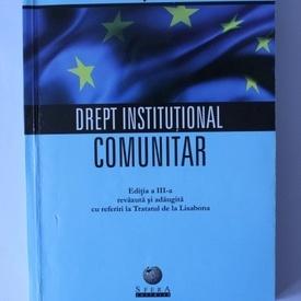 Gyula Fabian - Drept institutional comunitar