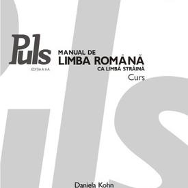 Daniela Kohn - Puls: Manual de limba romana ca limba straina. Nivelurile A1-A2