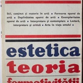 Luigi Pareyson - Estetica. Teoria formativitatii
