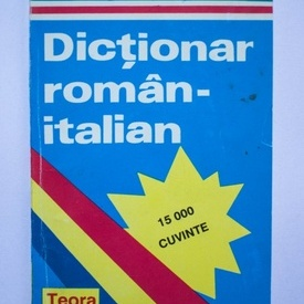 Alexandru Balaci - Dictionar roman-italian - 15.000 de cuvinte