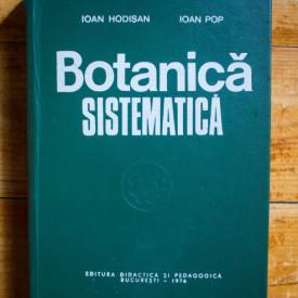 Ioan Hodisan, Ioan Pop - Botanica sistematica (editie hardcover)