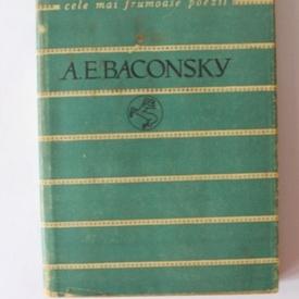A. E. Baconsky - Versuri. Cele mai frumoase poezii