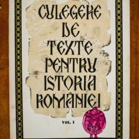 Acad. Stefan Pascu, Lect. univ. Liviu Maior - Culegere de texte pentru istoria Romaniei (vol. I)