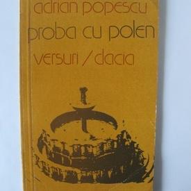 Adrian Popescu - Proba cu polen