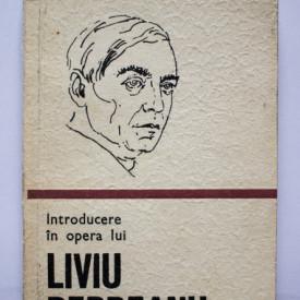 Al. Sandulescu - Introducere in opera lui Liviu Rebreanu