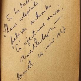Aurel Deboveanu - Miss `65 (debut, cu autograf)