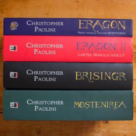Christopher Paolini - Set complet Mostenirea (Eragon. Eragon II. Cartea primului nascut. Brisingr. Mostenirea) (4 vol.)