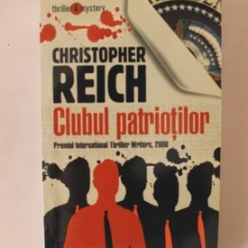 Christopher Reich - Clubul patriotilor