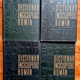 Colectiv autori - Dictionar enciclopedic roman (4 vol., editie hardcover)
