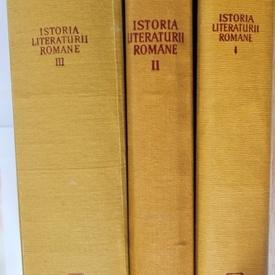 Colectiv autori - Istoria literaturii romane (3 vol., editie hardcover)