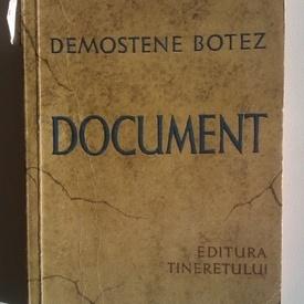 Demostene Botez - Document