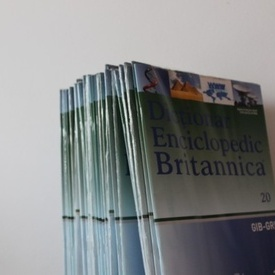 Dictionar Enciclopedic Britannica - 37 volume sigilate