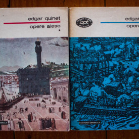 Edgar Quinet - Opere alese (2 vol.)
