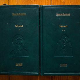 Fiodor M. Dostoievski - Idiotul (2 vol., editie hardcover)