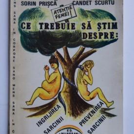 Flaviu Muresan, Romulus Negrea, Sorin Prisca, Candet Scurtu - Ce trebuie sa stim despre ingrijirea sarcinii, alaptare si prevenirea sarcinii