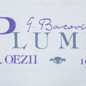 G. Bacovia - Plumb (editia centenar, frumos relegata, hardcover)