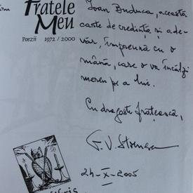 George Virgil Stoenescu - Fratele meu (cu autograf)