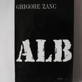Grigore Zanc - Alb (cu autograf)