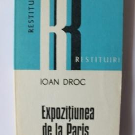 Ioan Droc - Expozitiunea de la Paris