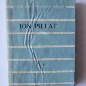 Ion Pillat - Versuri. Cele mai frumoase poezii