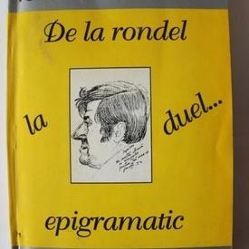 Ionel Iacob-Bencei - De la rondel la duel... epigramatic (cu autograf)
