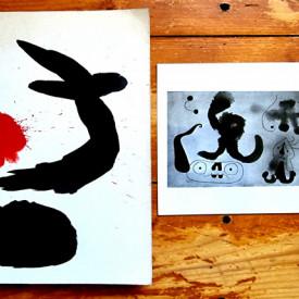 """Jean Cassou, pref. - Joan Miro (catalogue d`exposition, Musee National d`Art Moderne Paris, Juin - Novembre 1962) + photographie """"Vers la fin de la journee"""""""