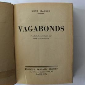 Knut Hamsun - Vagabonds (editie hardcover, interbelica, frumos relegata)
