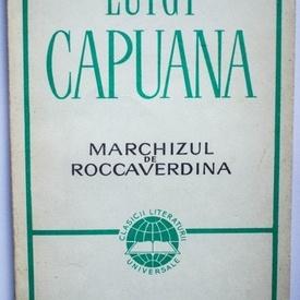 Luigi Capuana - Marchizul de Roccaverdina