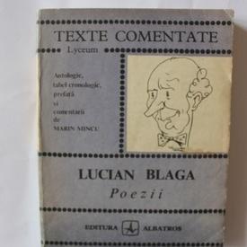 Marin Mincu - Lucian Blaga. Poezii (texte comentate)