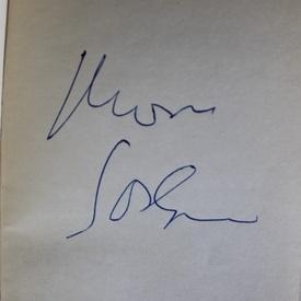 Marin Sorescu - La Lilieci. Cartea intai (cu autograf)